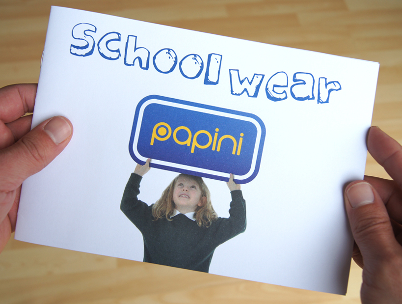 Papini Schoolwear booklet