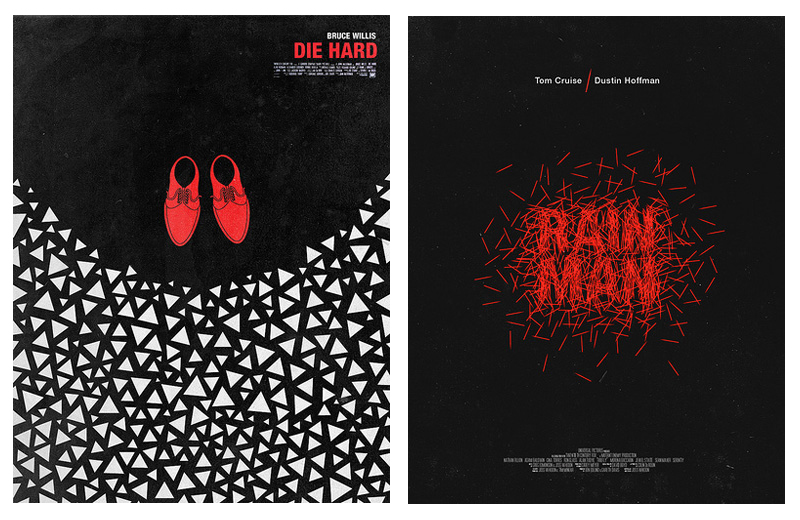 Die Hard and Rain Man