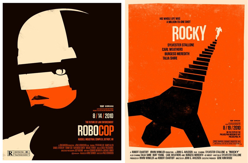 Robocop and Rocky