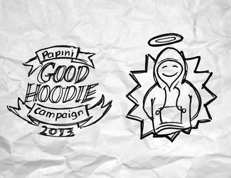 "Papini ""Good Hoodie"" campaign"