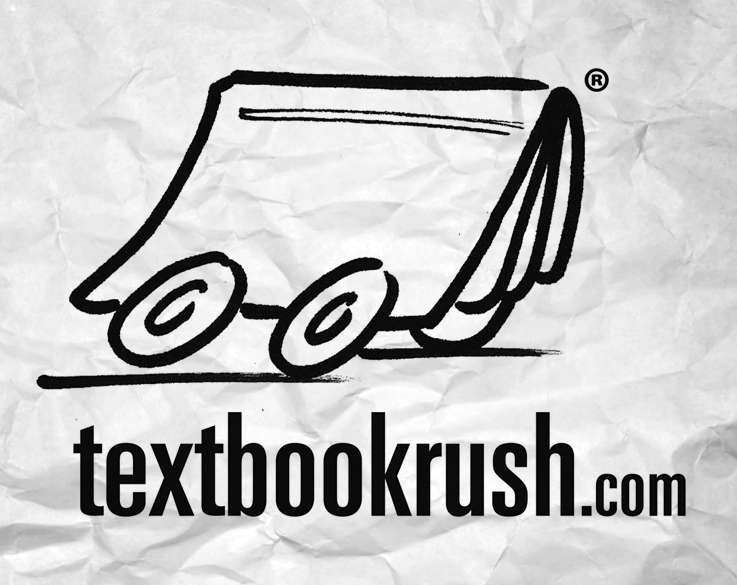 """Textbook Rush"" logo concepts"